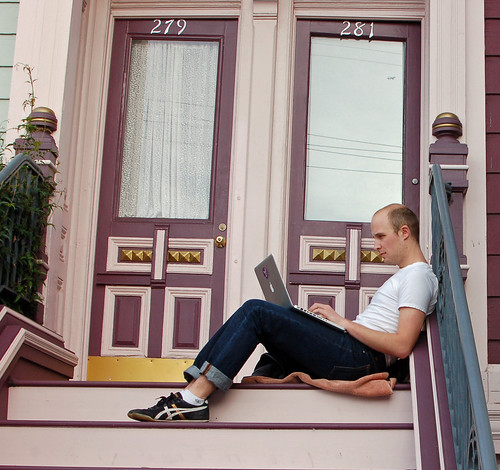 sitting on the stoop.jpg
