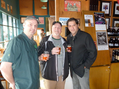 Vinnie, me and Joe Tucker, from Rate Beer