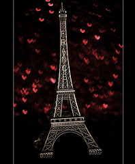 I Love The Eiffel Tower (ll.dyala.ll) Tags: camera paris france macro tower love canon eiffel 100mm   500d  i dyala