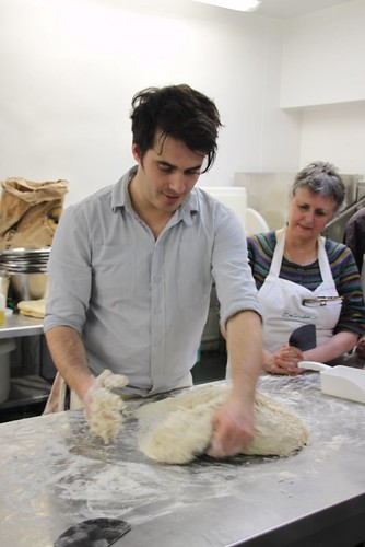 Tom Herberts Bread Course at Bedruthan Steps, Cornwall