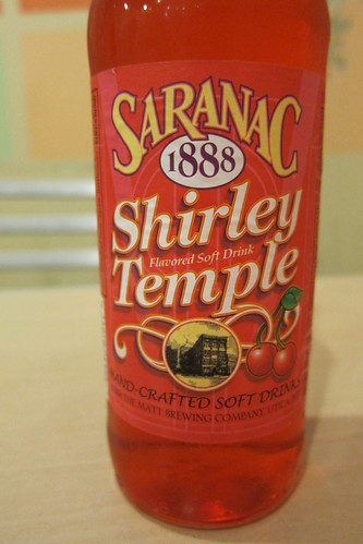 Weird Soda: Saranac Shirley Temple