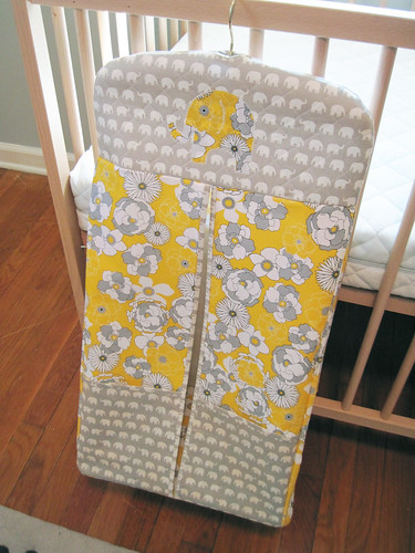 free pdf pattern for baby diaper stacker