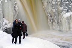 Grupipilt. (Jaan Keinaste) Tags: winter people snow ice water waterfall estonia pentax lumi juga vesi eesti talv jää k7 inimesed keilajoa doublyniceshot mygearandme mygearandmepremium