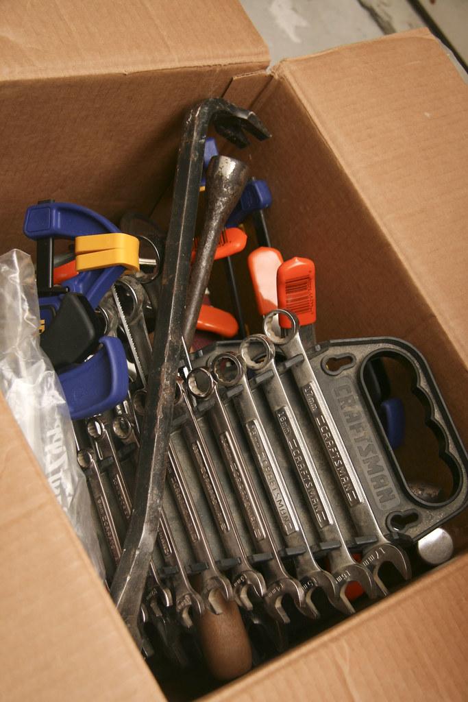 (068/365) February 4, 2011: Repacking my tools