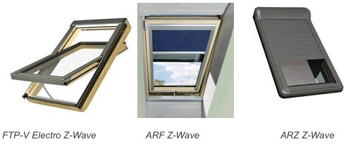 FAKRO Z-Wave Wireless Mesh Controlled Window