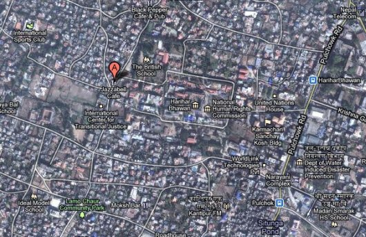 Google Map and Cell Phone Fail in Kathmandu