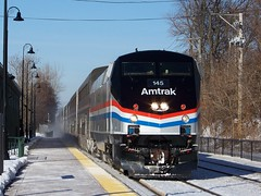 Phase III heritage, round two! (Robby Gragg) Tags: heritage three iii amtrak phase 145 lockport p42