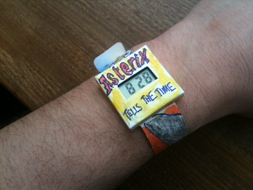 Asterix Tells The Time Watch