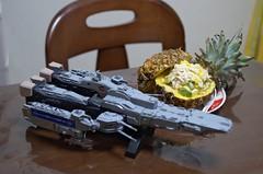 パインサラダとSDF-1