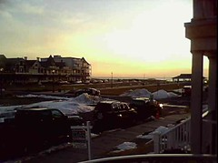 ~~ Sunday Sunrise ~~ Live, from Ocean Grove, on the Jersey Shore ~~ (Chic Bee) Tags: ocean from camera sunrise newjersey am view live captured nj next atlantic online feed jerseyshore bradleybeach 511 oceangrove oceanpathway february13th2011
