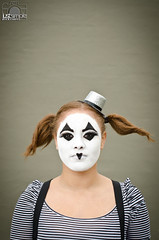 mime--2 (Alejandro Herrera Photography) Tags: blue white black color love girl yellow fun happy nikon god miami mime d7000