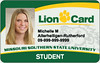 picture of lion card