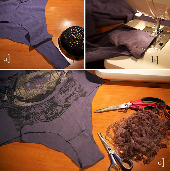 OutsaPop tutorial t-shirt bodysuit STEP 5