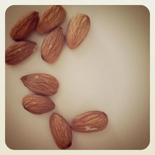 . almond snack .