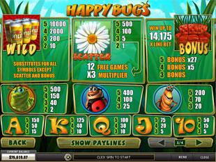 free Happy Bugs slot mini symbol