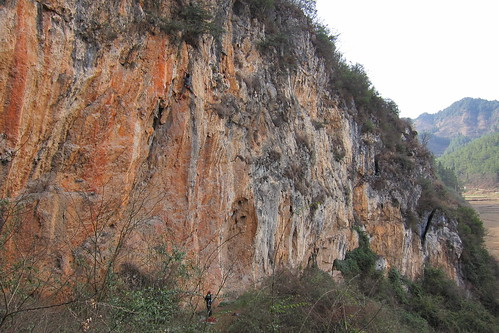 TuanJie Cave, just outside