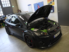 Ford Focus RS (Anderson Germany Black Racing Edition) 'Explored' (Niklas Emmerich Photography) Tags: black green ford matt germany arthur hp focus racing anderson 370 edition dsseldorf rs v6 meilenwerk 2011 boka worldcars