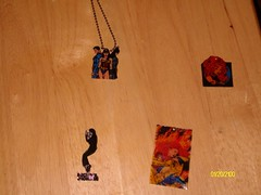 Shrinky Dink Pendants (Craft2Live) Tags: phoenix justice mj michaeljackson starfire league shrinkydink endsong