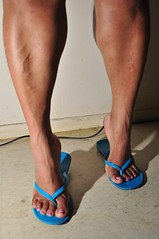 Monique0021 (danks11) Tags: sexy feet legs muscular strong veins calf calves muscularcalves veinyfeet feetveins muscularcalf