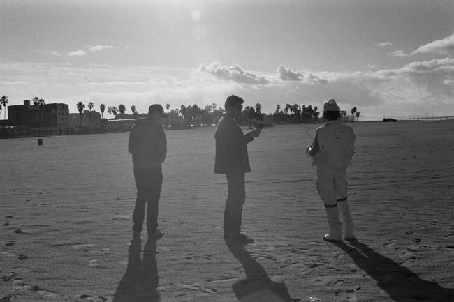 beach filming
