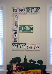 License Plate Letter 'E'