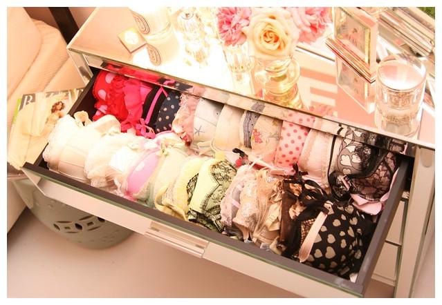 alison bra drawer frou frou boudoir