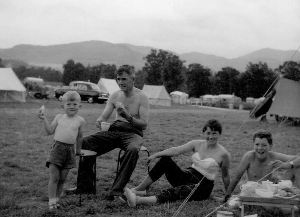 McCreath Family at Pitlochry 1960