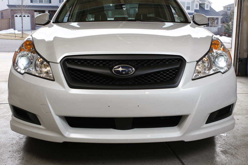 Mods Blacked Out Grill Subaru Legacy Forums