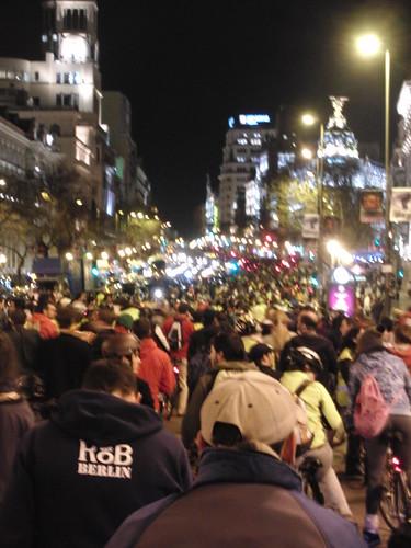 subiendo la calle Alcalá