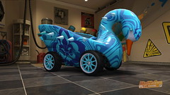 ModNation Racers: swan
