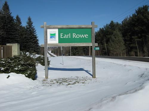 """Earl Rowe Provincial Park """"Earl Rowe"""""""