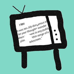 a comparison of 1984 televisions and telescreens Test your knowledge with amazing and interesting facts, trivia, quizzes, and brain teaser games on mentalflosscom.