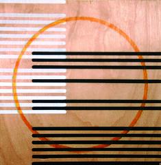 Formalist Study 1 (LineLineDot) Tags: california new white black art yellow modern composition dark design losangeles movement paint object kandinsky icon dot minimal line negative positive minimalism artnow linelinedot