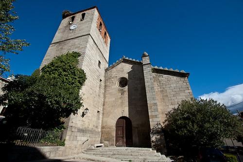 La iglesia parroquial de Hoyo de Pinares