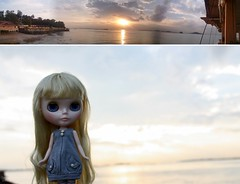 Watching the sunset!... Dolly Diptych Weekly 08/52