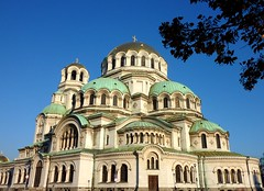 The Alexander Nevsky Cathedral in Sofia, Bulgaria (Frans.Sellies) Tags: church day cathedral sofia kathedrale kirche sunny bulgaria orthodox cathedrale bulgarie orthodoxchurch bulgarije bulgarien  bulharsko bulgaristan            p1280766