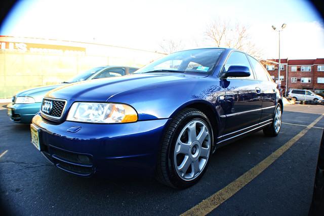2001 Audi S4 Santorin Blue Was Stolen From 440 3 19 11