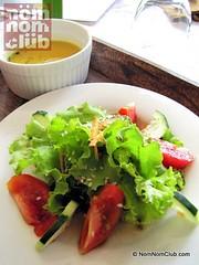 Nurture Spa's Garden Salad