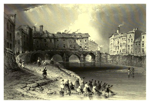 010-Puente Olds Baal's en Limerick-The scenery and antiquities of Ireland -Vol I-1842-W. H. Bartlett