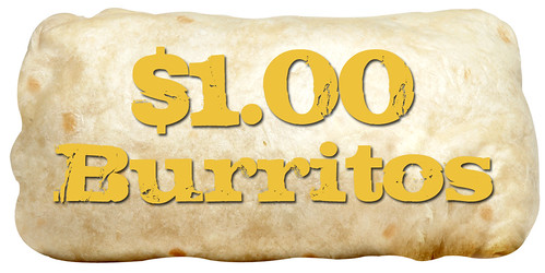 $1 burritos