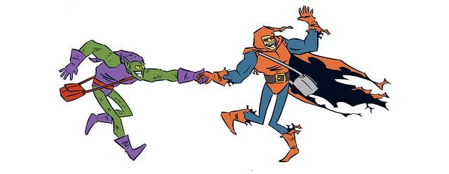 Green Goblin and Hobgoblin