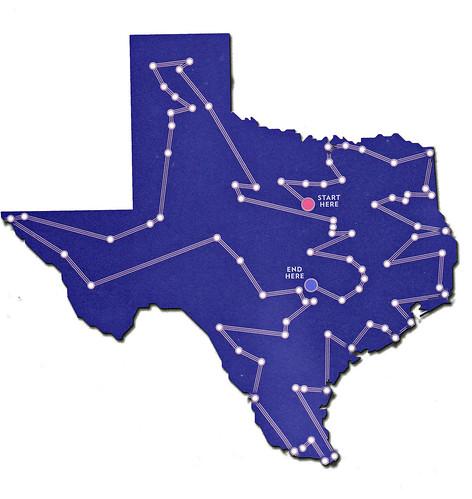 a journey through texas Free essay: a journey through texas alvar nunez cabeza de vaca de vaca and his three countrymen wandered for months through texas as they journeyed toward.