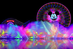 World of Color Wednesday Mermaid Edition... (Ring of Fire Hot Sauce 1) Tags: reflection water fountain night disneyland mickeymouse animation littlemermaid waltdisney disneycaliforniaadventure underthesea paradisepier funwheel waltdisneyswonderfulworldofcolor canont1i