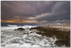 breaking sea (chris frick) Tags: longexposure sea sky italy lighthouse seascape clouds coast rocks waves wideangle filter lee sicily splash rolling mediterraneansea breaking sanvitolocapo watermotion chrisfrick canon1635mmf28liiusm canoneos5dmark2 09gndsoft 075gndhard