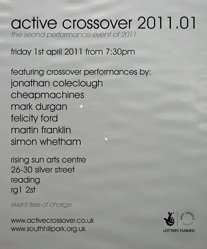 Active Crossover, 01/04/2011