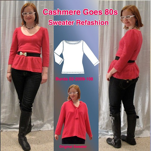 Pink Cashmere Refashion