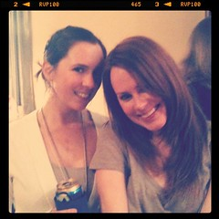 Me and my Kristen. Love her so.