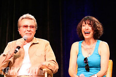 James Darren & Nana Visitor (TrekNews.net) Tags: startrek lasvegas nv convention 2010 ds9 deepspacenine nanavisitor jamesdarren stlv