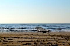 Calmness (RGplayer01) Tags: sea landscape sand nikon italia mare relaxation plage italie d3100