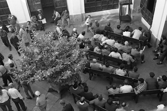 Palacio del Nuncio el día el 7 de Junio de 1976. Fotografía de José María Moreno